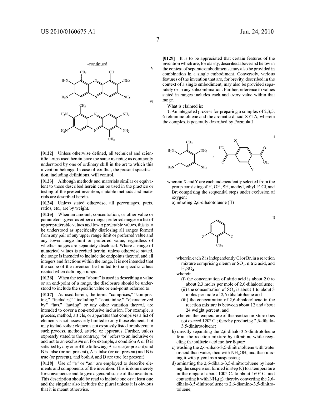 INTEGRATED PROCESS FOR THE PREPARATION OF POLYBENZIMIDAZOLE PRECURSORS - diagram, schematic, and image 10