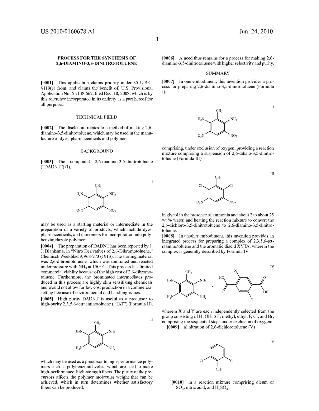 PROCESS FOR THE SYNTHESIS OF 2,6-DIAMINO-3,5-DINITROTOLUENE - diagram, schematic, and image 02