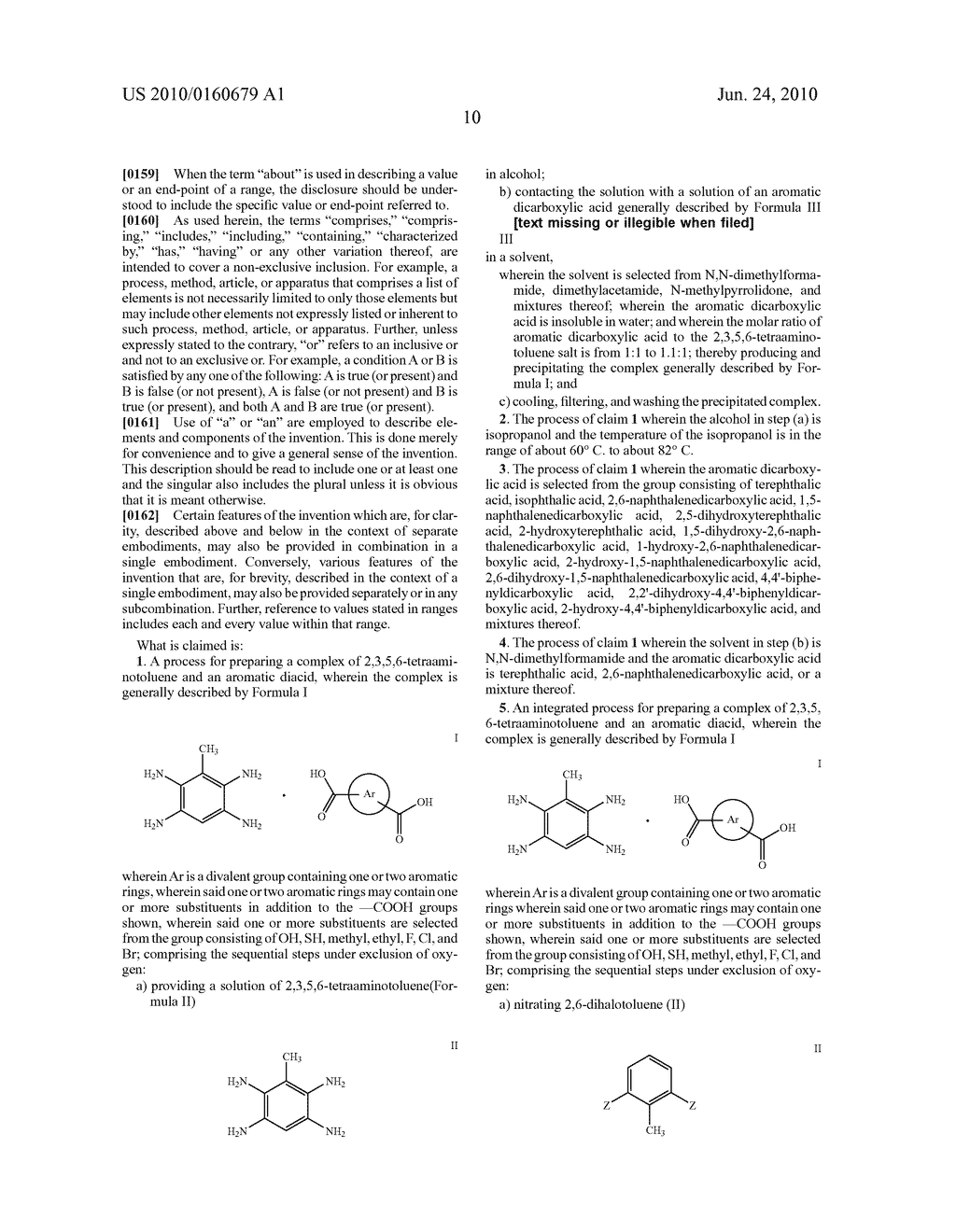 INTEGRATED PROCESS FOR THE PREPARATION OF POLYBENZIMIDAZOLE PRECURSORS - diagram, schematic, and image 13