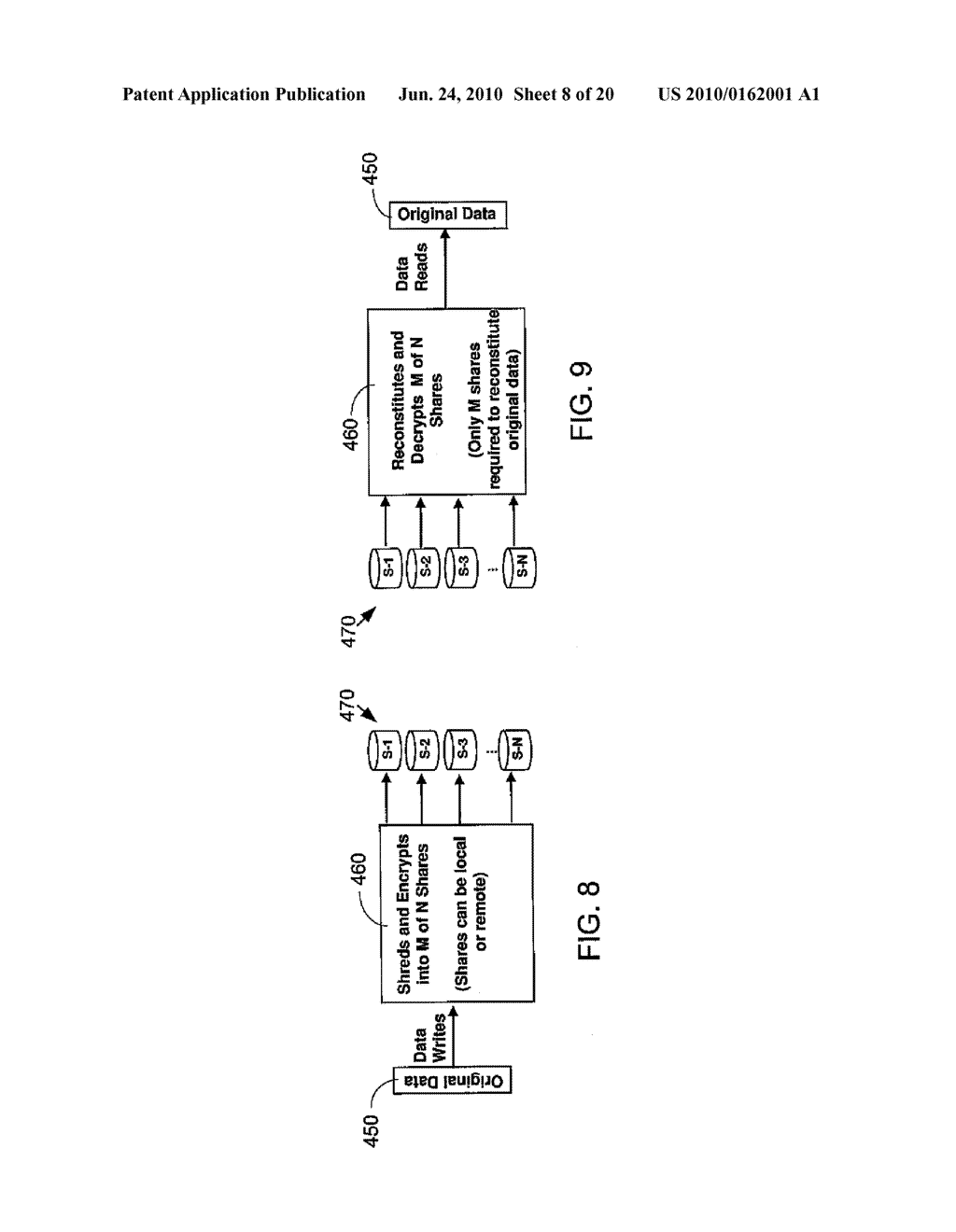 SECURE NETWORK ATTACHED STORAGE DEVICE USING CRYPTOGRAPHIC SETTINGS - diagram, schematic, and image 09