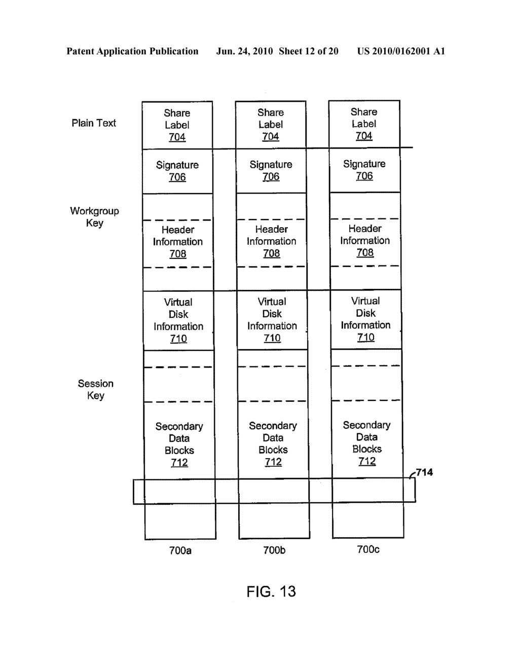 SECURE NETWORK ATTACHED STORAGE DEVICE USING CRYPTOGRAPHIC SETTINGS - diagram, schematic, and image 13