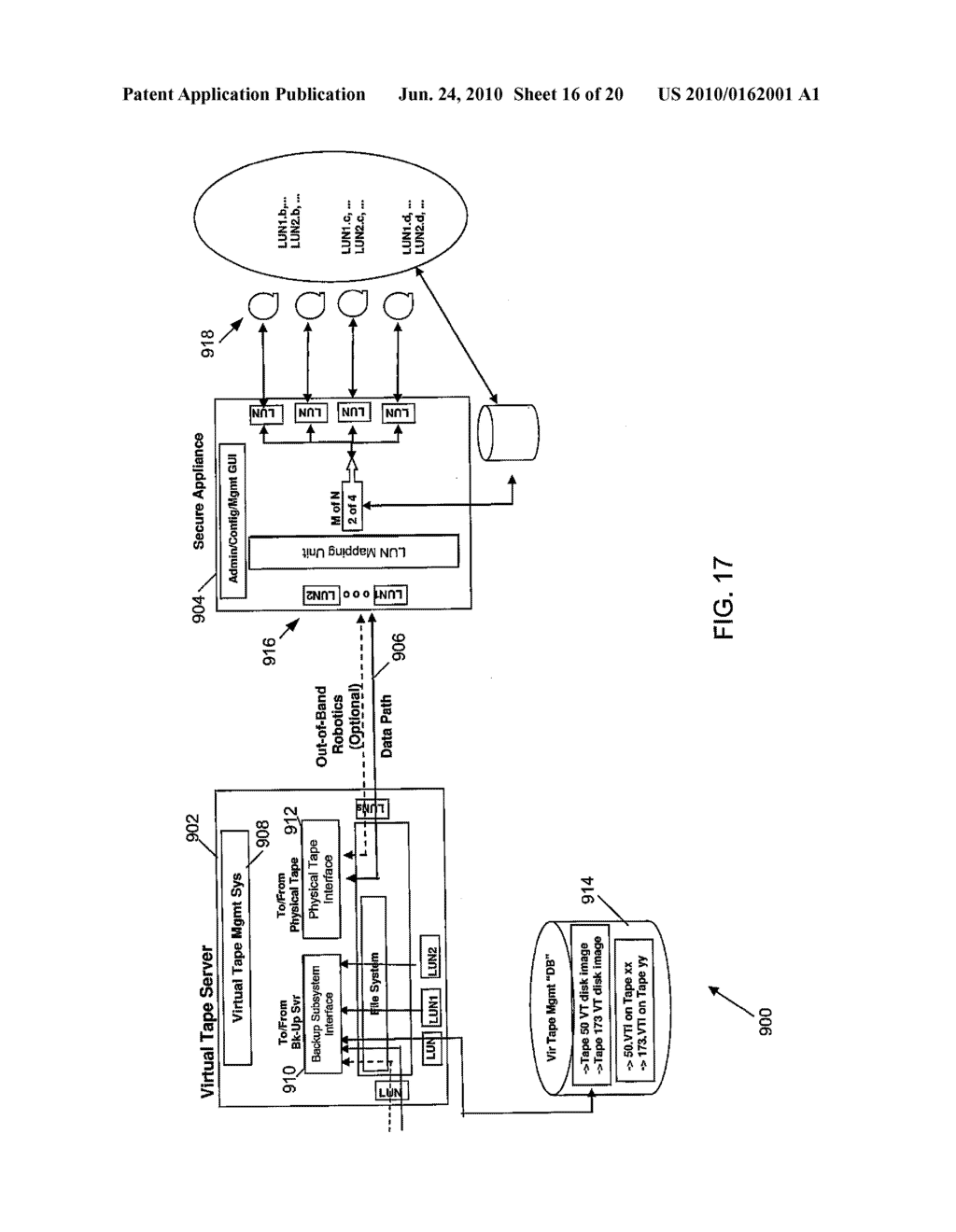 SECURE NETWORK ATTACHED STORAGE DEVICE USING CRYPTOGRAPHIC SETTINGS - diagram, schematic, and image 17