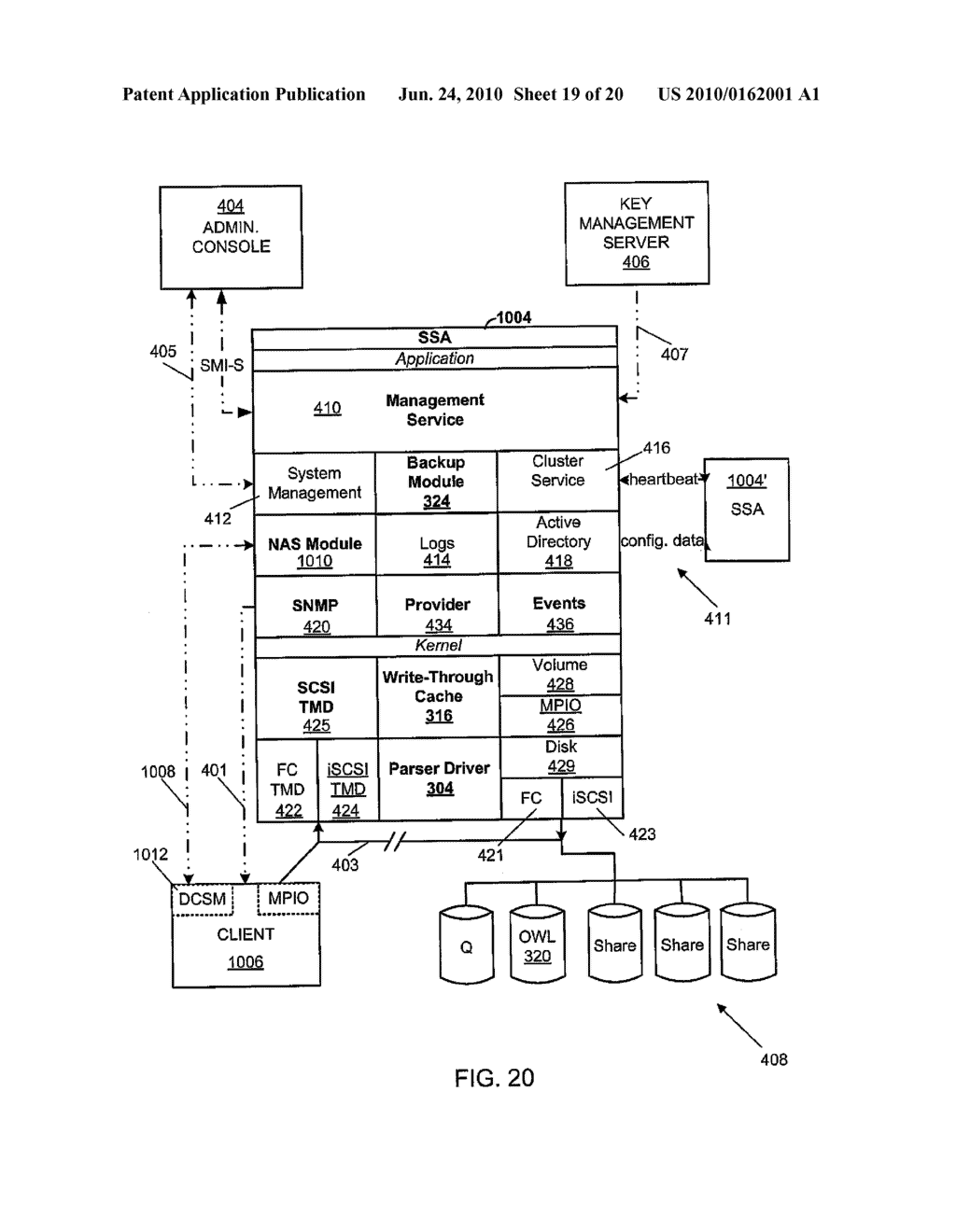 SECURE NETWORK ATTACHED STORAGE DEVICE USING CRYPTOGRAPHIC SETTINGS - diagram, schematic, and image 20