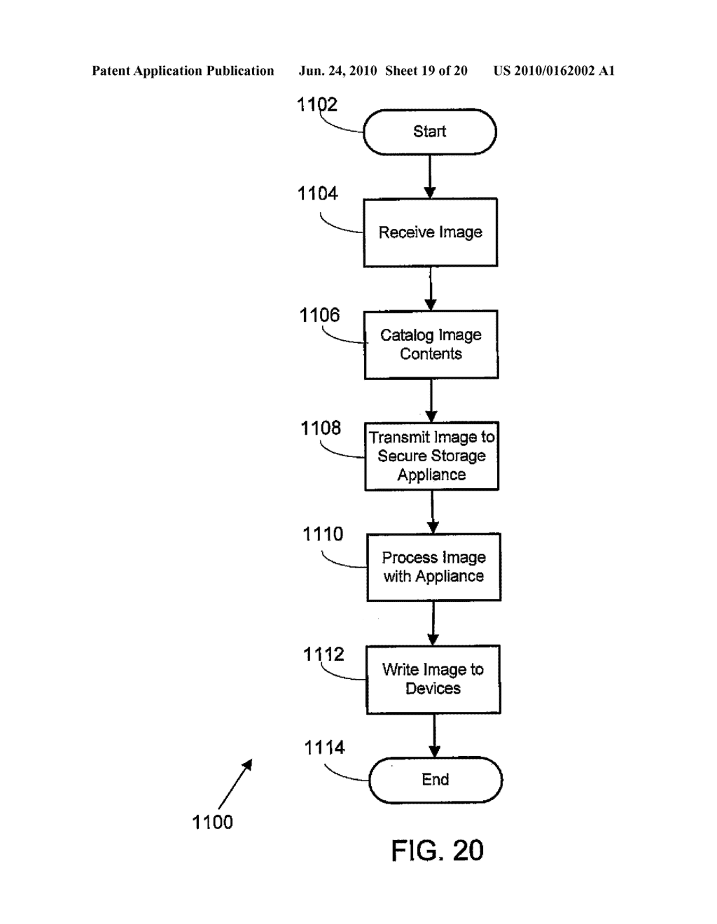VIRTUAL TAPE BACKUP ARRANGEMENT USING CRYPTOGRAPHICALLY SPLIT STORAGE - diagram, schematic, and image 20