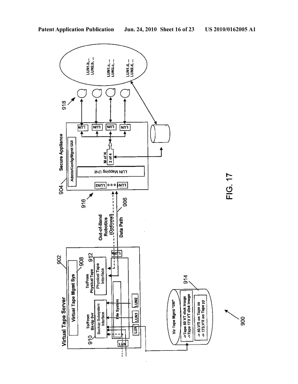 STORAGE COMMUNITIES OF INTEREST USING CRYPTOGRAPHIC SPLITTING - diagram, schematic, and image 17