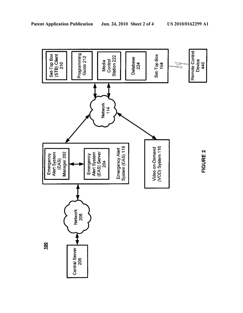 SYSTEM AND METHOD FOR DELIVERING VIDEO-ON-DEMAND (VOD) CONTENT DURING EMERGENCY ALERT SYSTEM (EAS) EVENTS - diagram, schematic, and image 03