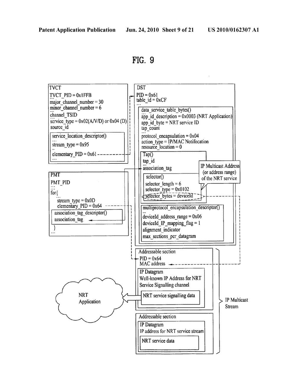Method for receiving a broadcast signal and broadcast receiver - diagram, schematic, and image 10
