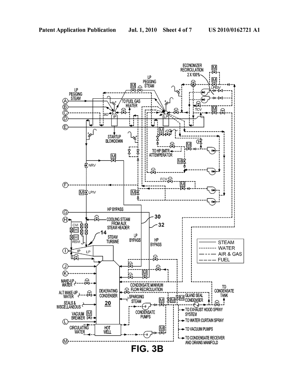 APPARATUS FOR STARTING A STEAM TURBINE AGAINST RATED PRESSURE - diagram, schematic, and image 05