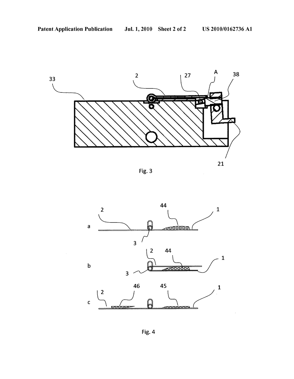 APPARATUS AND METHOD FOR THE PREPARATION OF FLUID BEARING MATERIALS FOR SURFACE ANALYSIS IN A VACUUM - diagram, schematic, and image 03