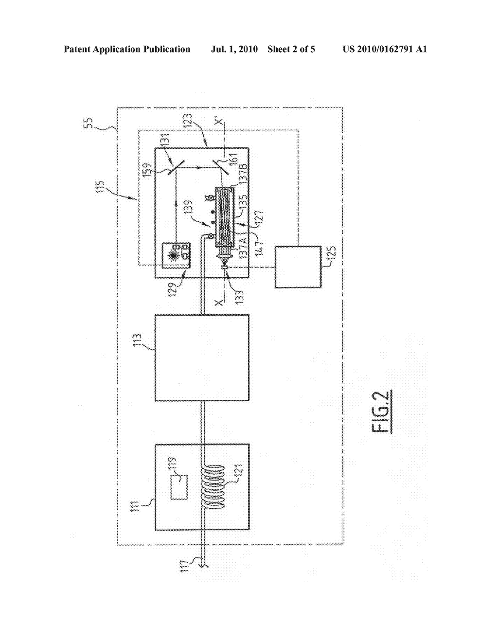 DEVICE FOR QUANTIFYING THE CONTENTS OF AT LEAST ONE GASEOUS CONSTITUENT CONTAINED IN A GASEOUS SAMPLE FROM A FLUID, RELATED ASSEMBLY AND PROCESS - diagram, schematic, and image 03