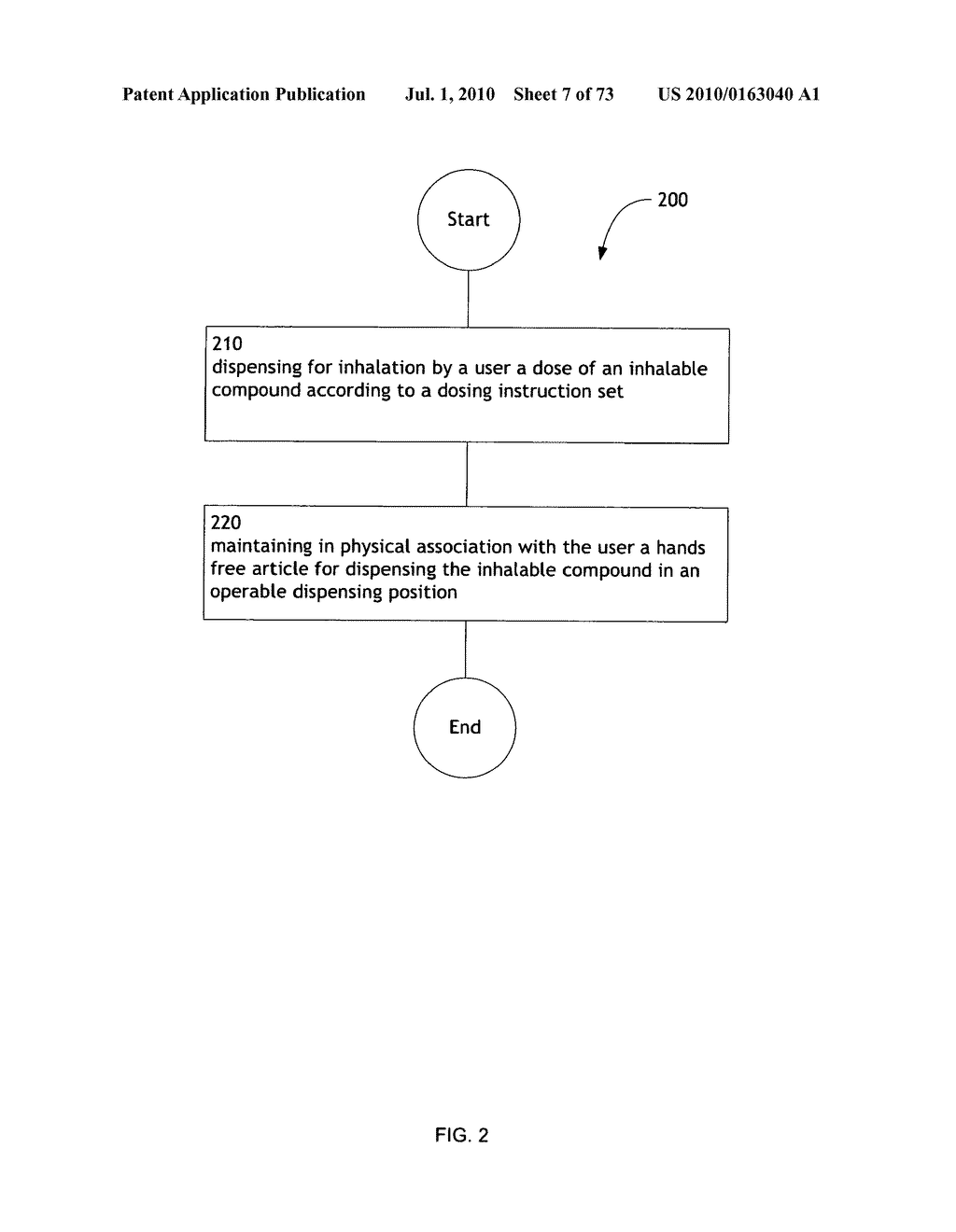 Method for administering an inhalable compound - diagram, schematic, and image 08