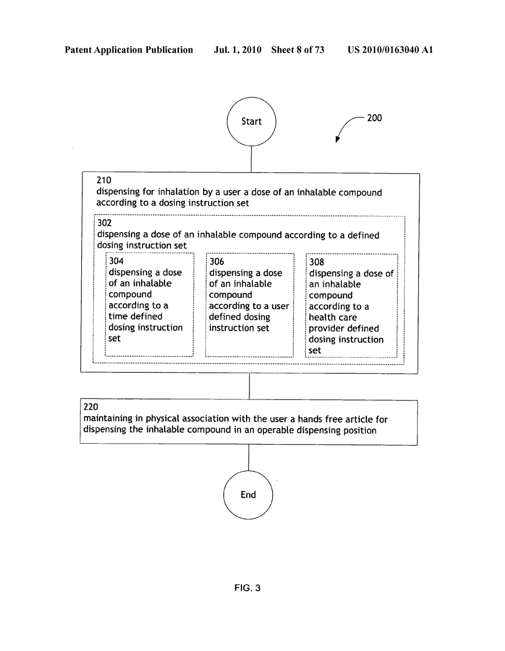 Method for administering an inhalable compound - diagram, schematic, and image 09
