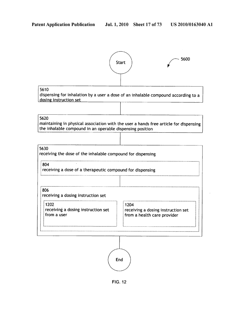 Method for administering an inhalable compound - diagram, schematic, and image 18