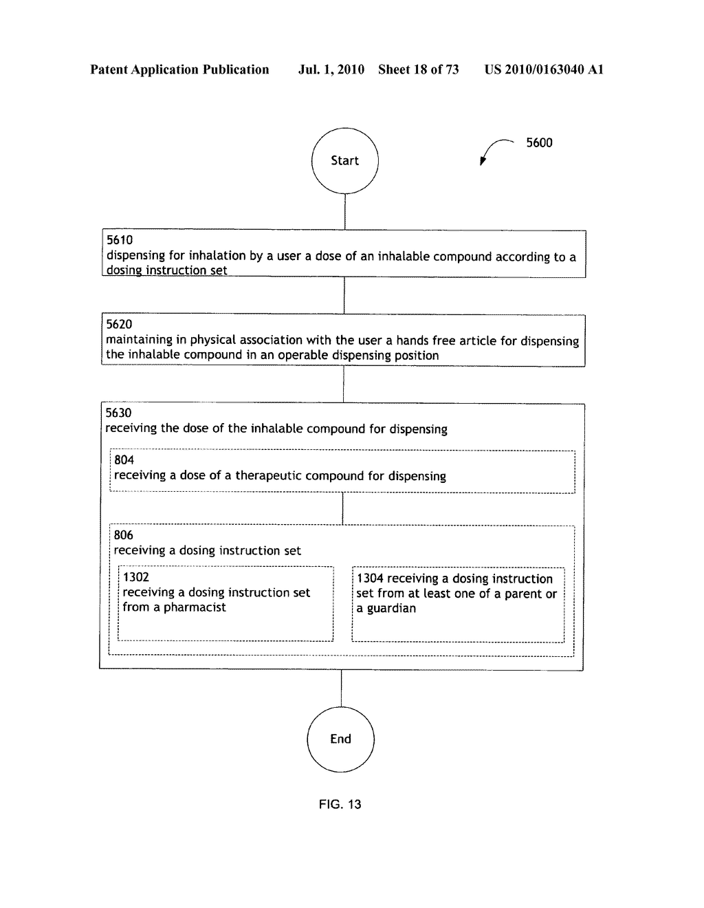 Method for administering an inhalable compound - diagram, schematic, and image 19