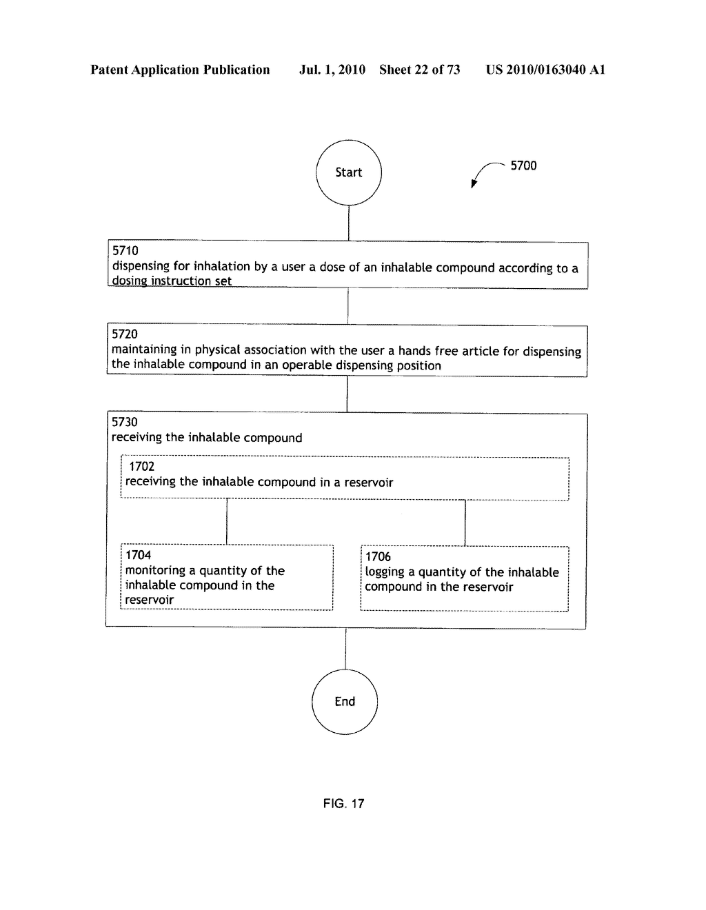 Method for administering an inhalable compound - diagram, schematic, and image 23