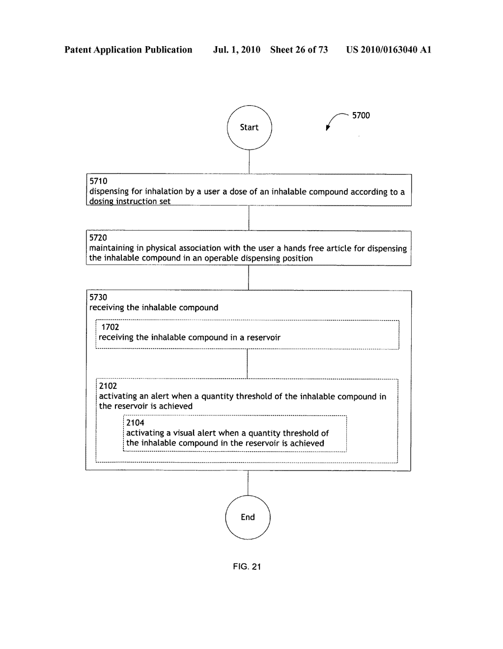 Method for administering an inhalable compound - diagram, schematic, and image 27