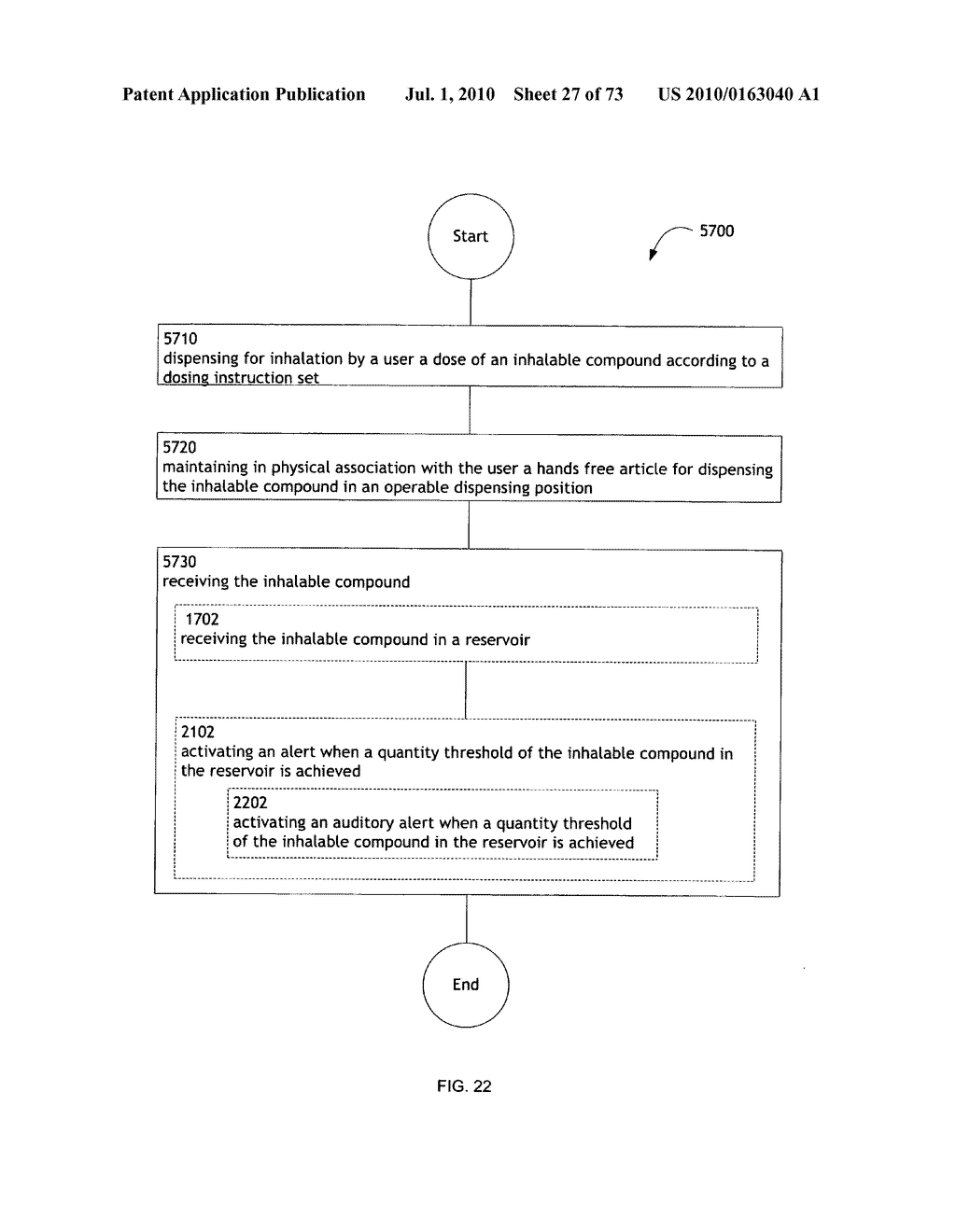 Method for administering an inhalable compound - diagram, schematic, and image 28