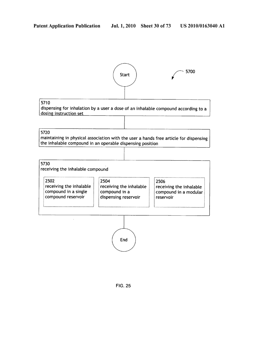 Method for administering an inhalable compound - diagram, schematic, and image 31