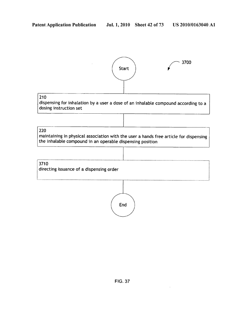Method for administering an inhalable compound - diagram, schematic, and image 43