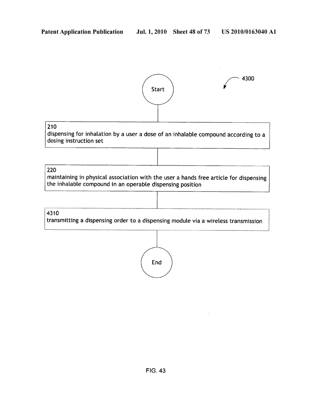 Method for administering an inhalable compound - diagram, schematic, and image 49