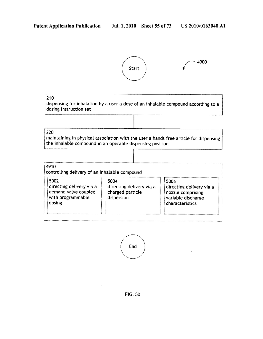 Method for administering an inhalable compound - diagram, schematic, and image 56
