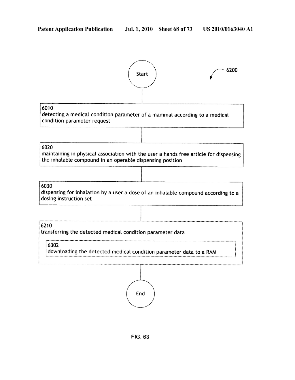 Method for administering an inhalable compound - diagram, schematic, and image 69