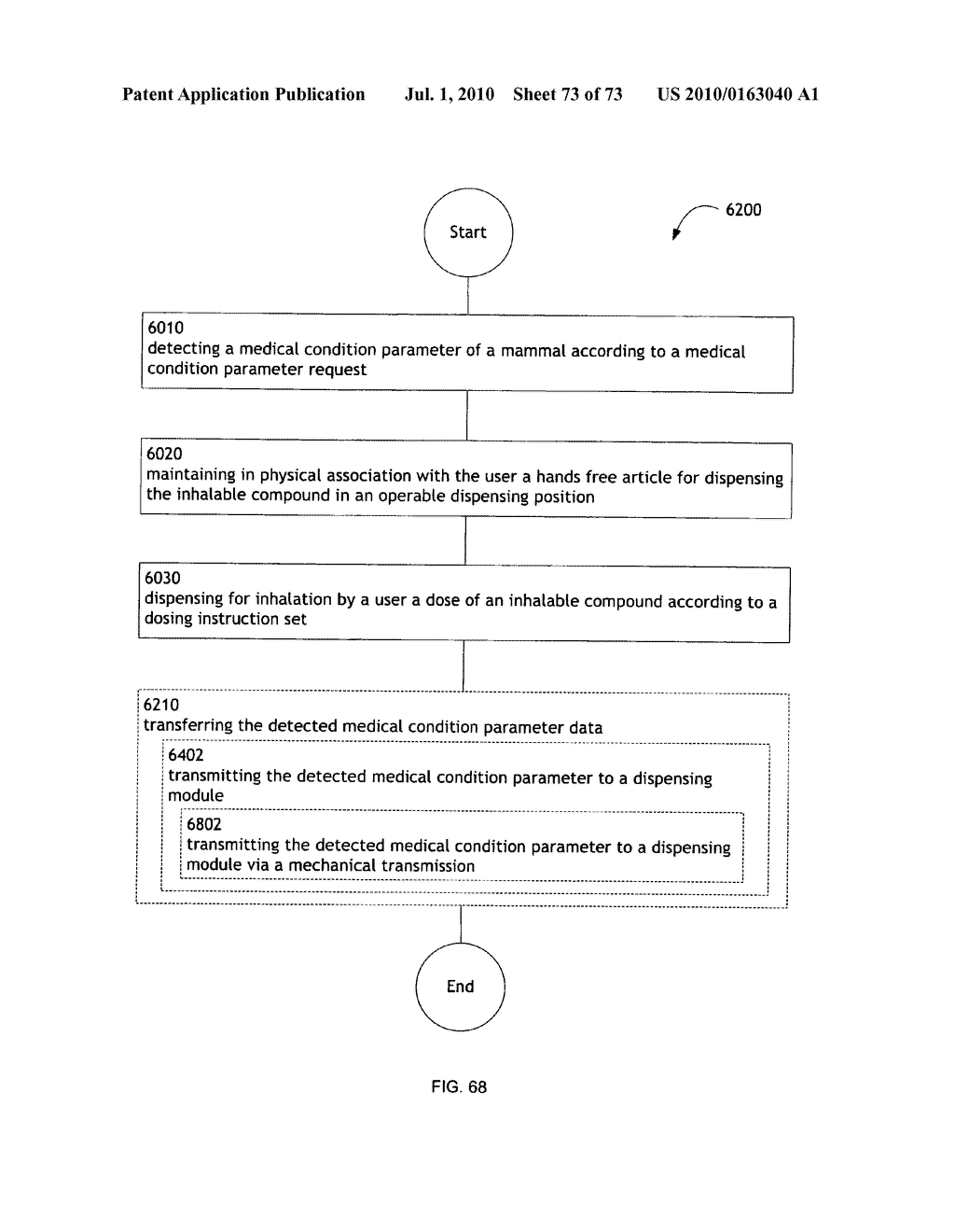 Method for administering an inhalable compound - diagram, schematic, and image 74
