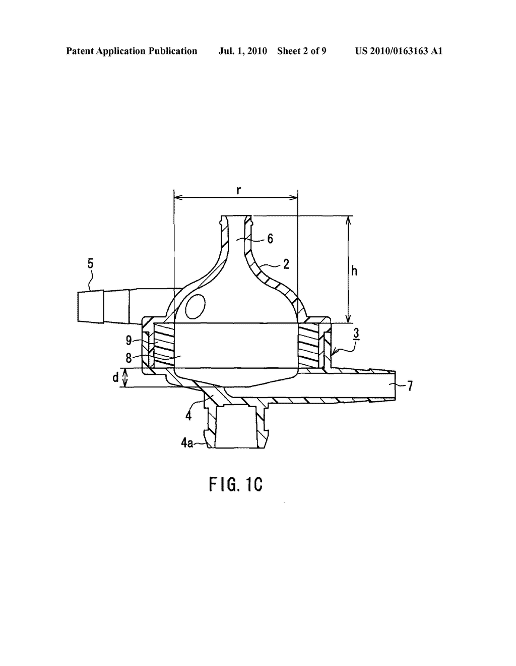 BLOOD FILTER DEVICE AND METHOD OF PRODUCING THE SAME - diagram, schematic, and image 03