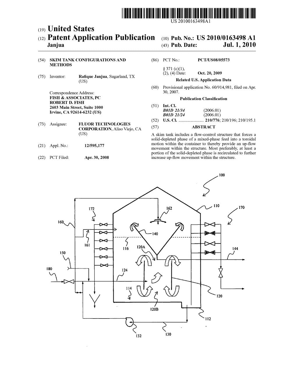 Skim Tank Configurations And Methods Diagram Schematic Image 01 Welding Circuit