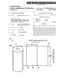 SANITARY THIN PAPER ROLL diagram and image