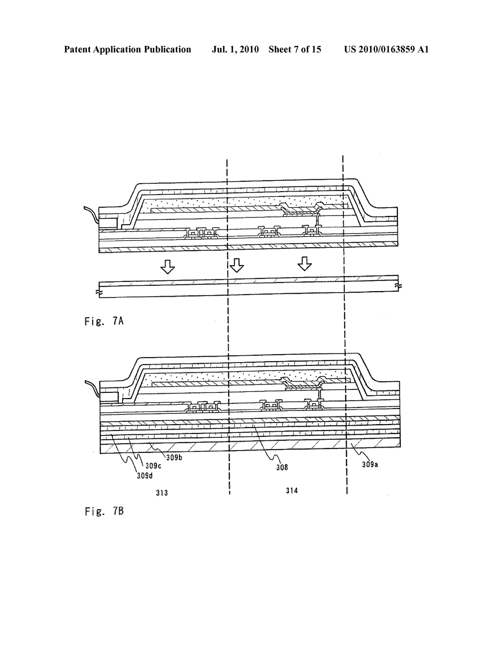 LIGHT EMITTING DEVICE AND ELECTRONIC APPARATUS - diagram, schematic, and image 08