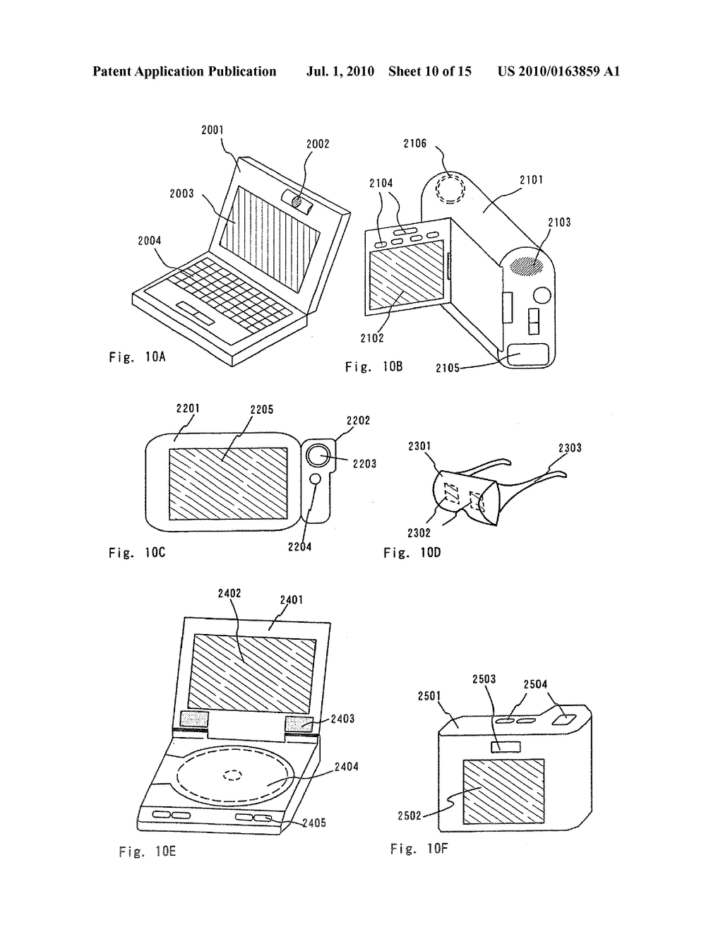 LIGHT EMITTING DEVICE AND ELECTRONIC APPARATUS - diagram, schematic, and image 11