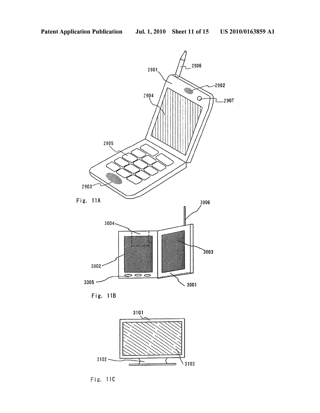 LIGHT EMITTING DEVICE AND ELECTRONIC APPARATUS - diagram, schematic, and image 12