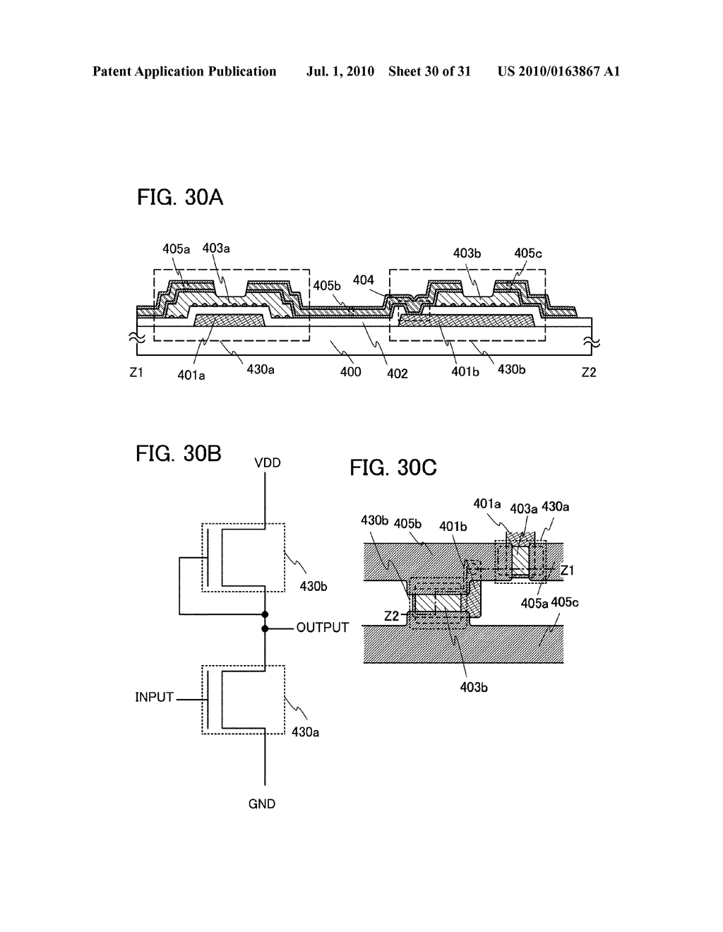 SEMICONDUCTOR DEVICE, METHOD FOR MANUFACTURING THE SAME, AND ELECTRONIC DEVICE HAVING THE SAME - diagram, schematic, and image 31