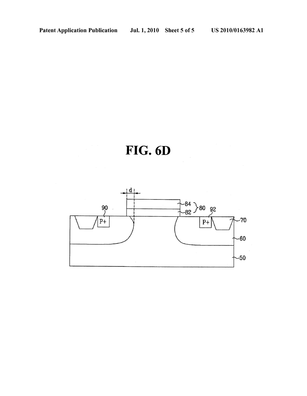 SEMICONDUCTOR DEVICE FOR HIGH VOLTAGE AND METHOD FOR MANUFACTURING THE SAME - diagram, schematic, and image 06