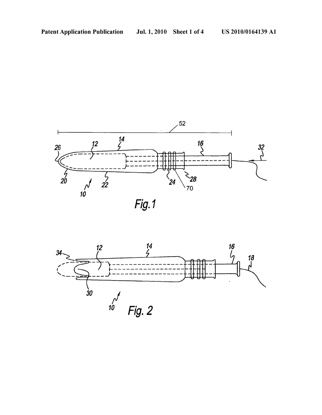 Barrel for a tampon application assembly and methods of forming - diagram, schematic, and image 02