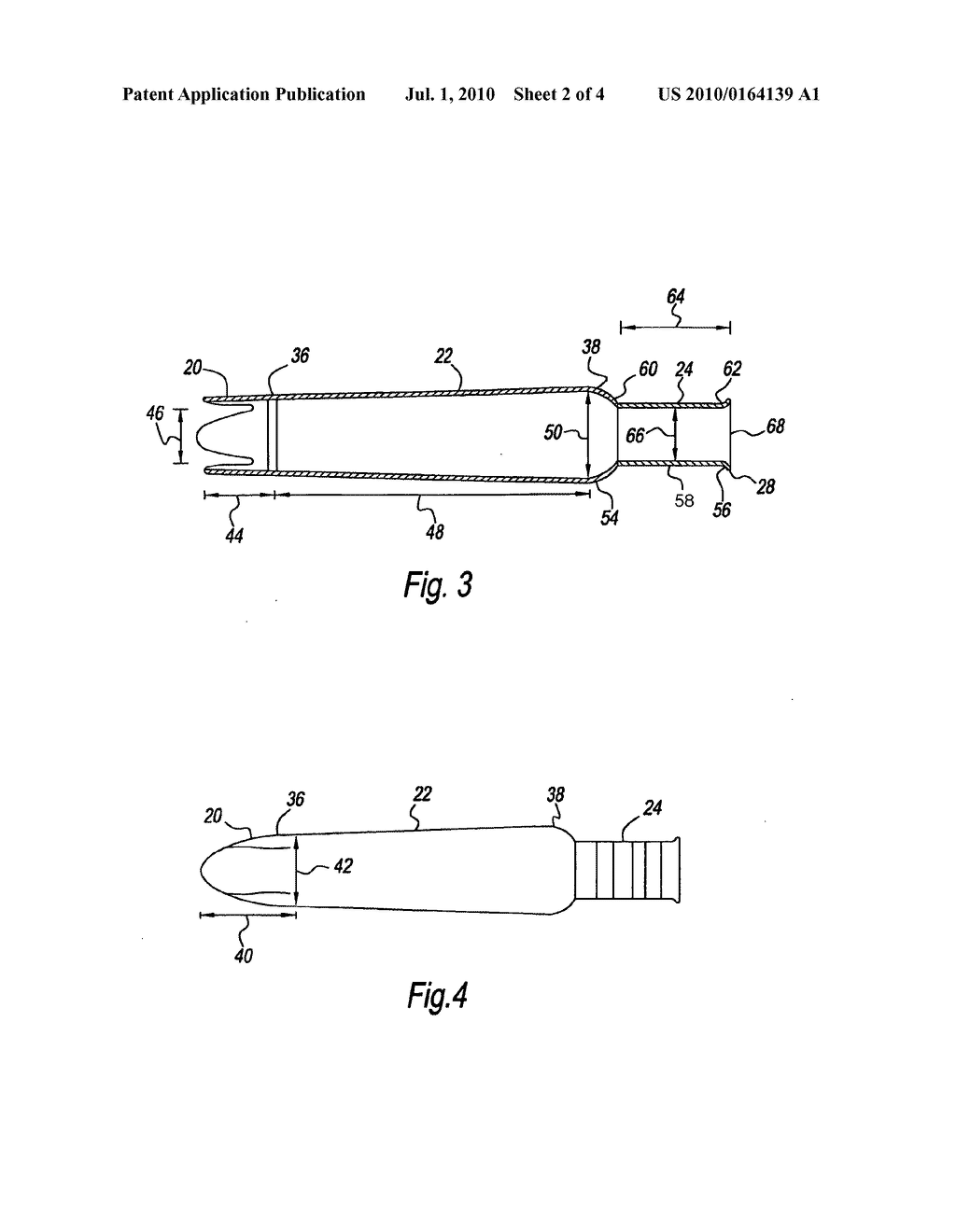 Barrel for a tampon application assembly and methods of forming - diagram, schematic, and image 03