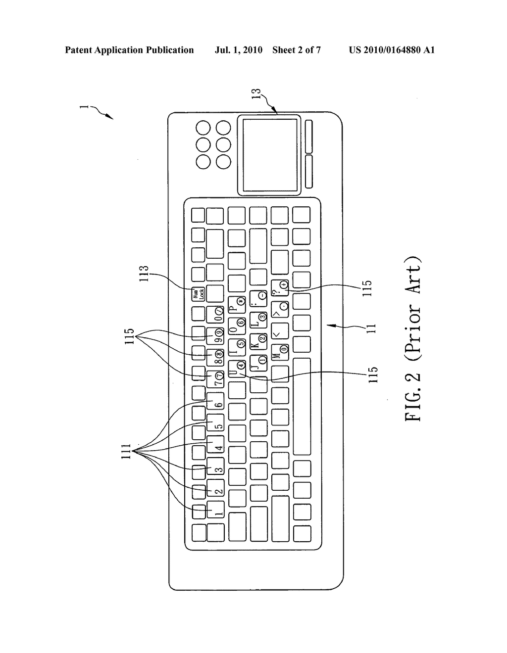 Method of converting touch pad into touch mode or number-key and/or hot-key input mode - diagram, schematic, and image 03