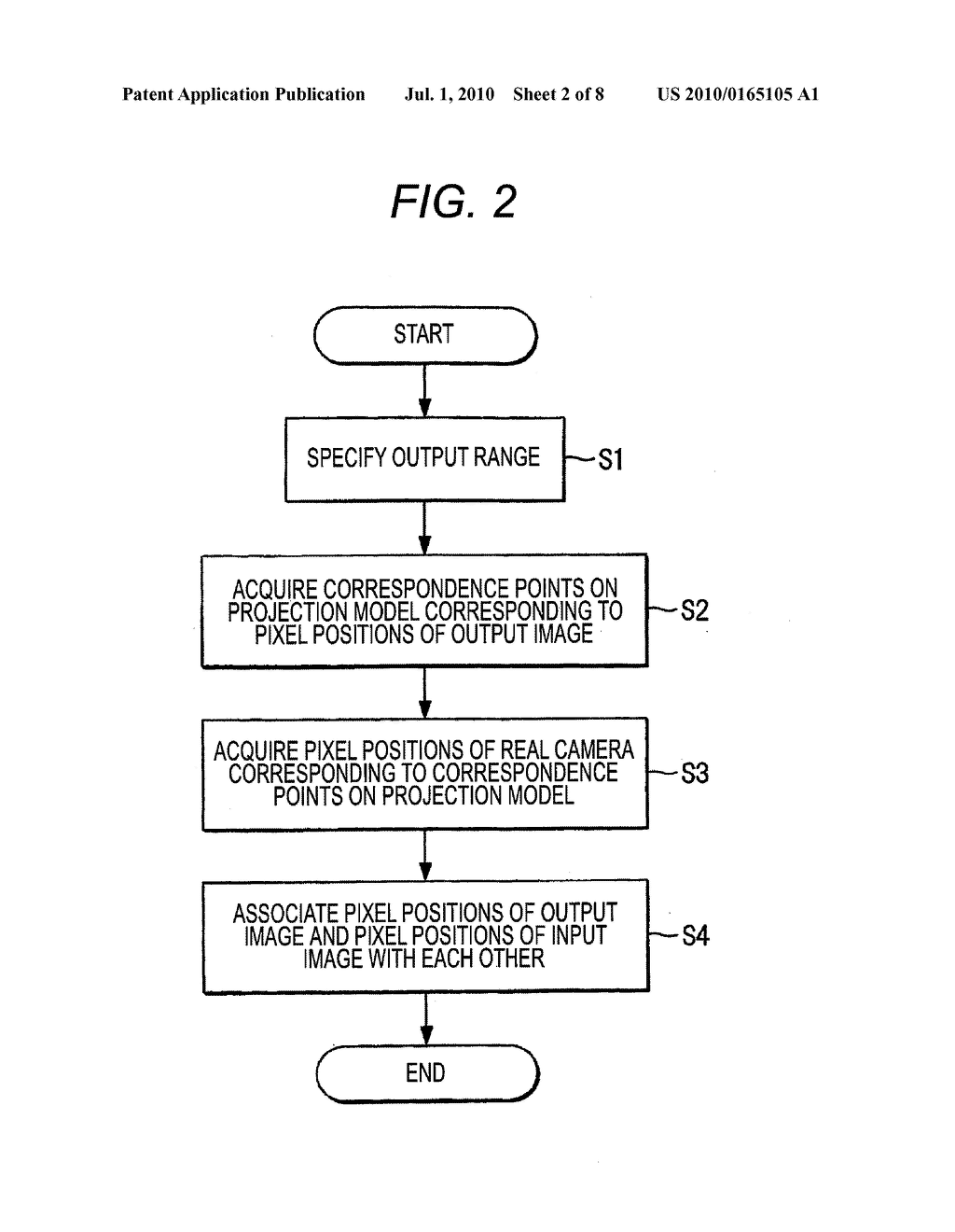 VEHICLE-INSTALLED IMAGE PROCESSING APPARATUS AND EYE POINT CONVERSION INFORMATION GENERATION METHOD - diagram, schematic, and image 03