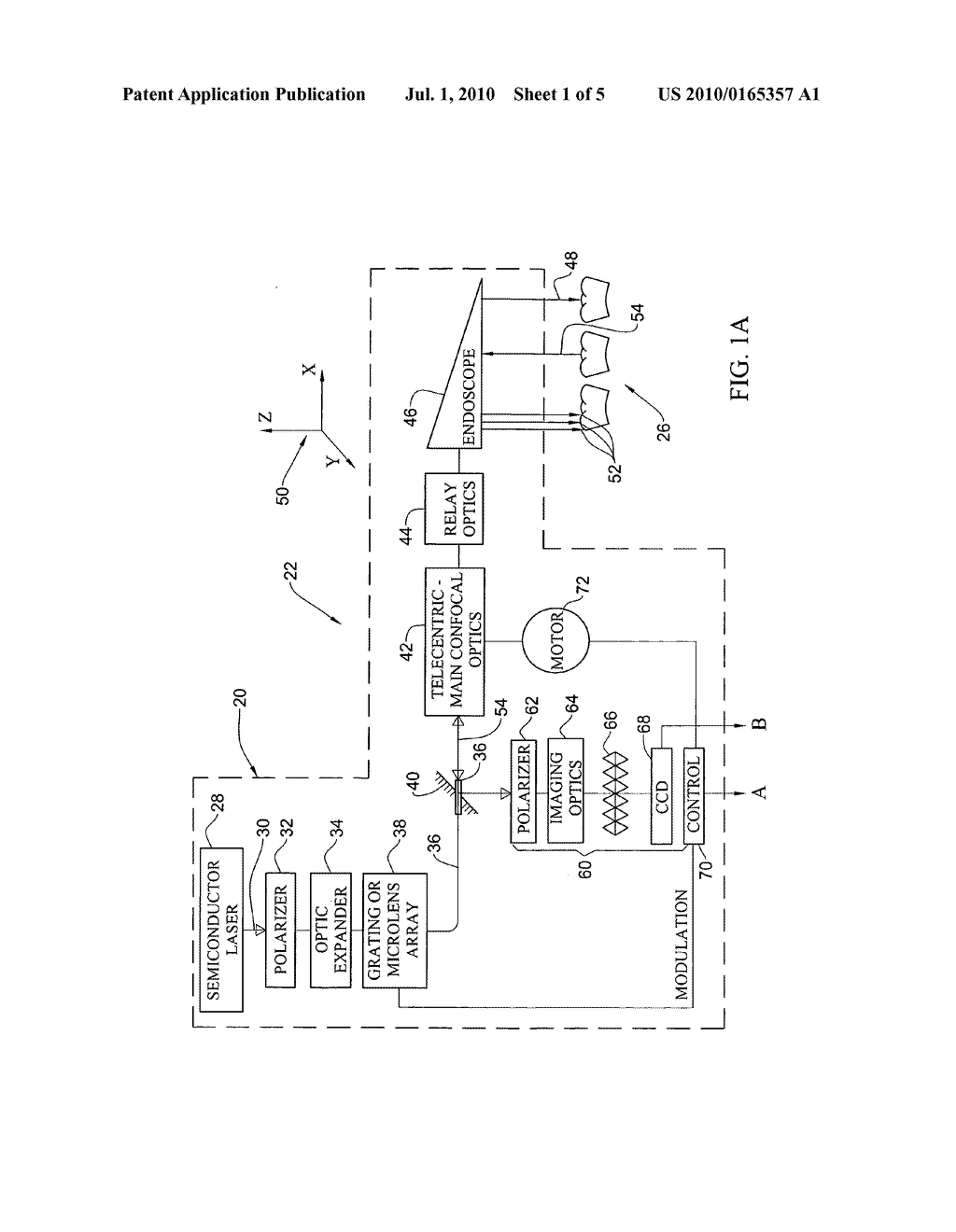 Method and apparatus for imaging three-dimensional structure - diagram, schematic, and image 02
