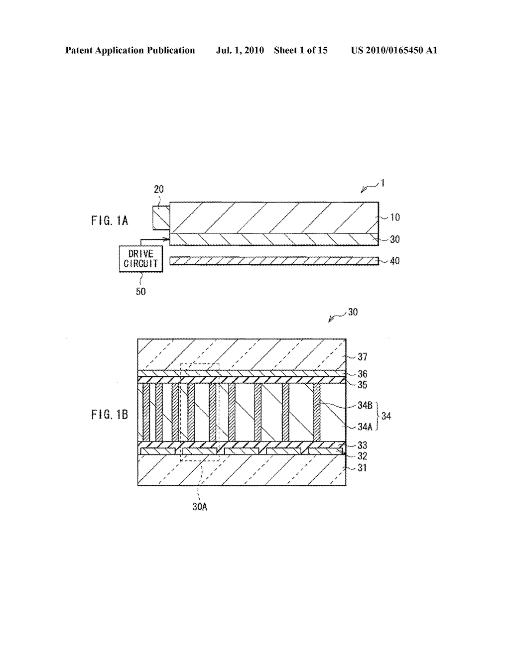 ILLUMINATION DEVICE, DISPLAY DEVICE, AND METHOD OF MANUFACTURING LIGHT MODULATOR - diagram, schematic, and image 02