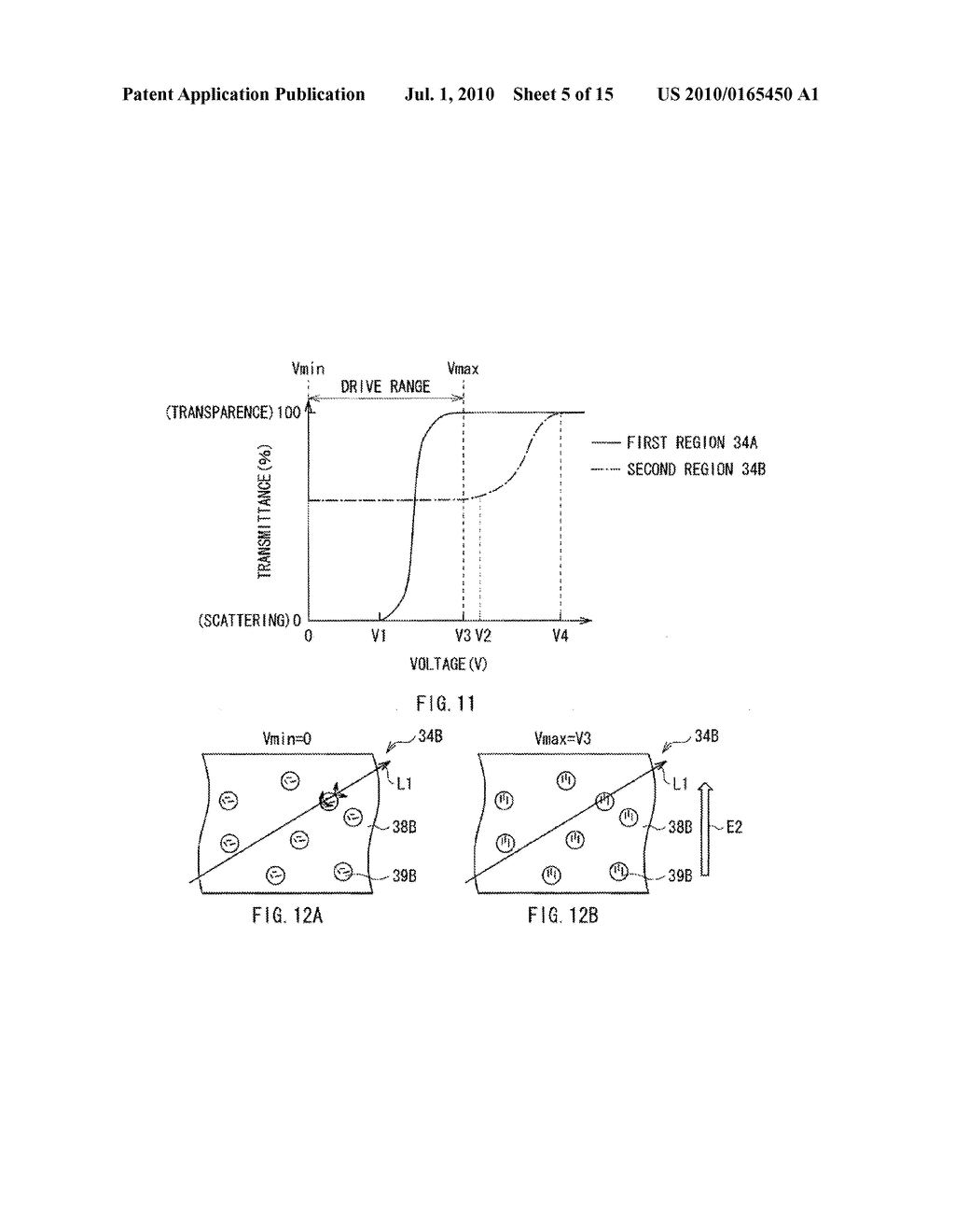 ILLUMINATION DEVICE, DISPLAY DEVICE, AND METHOD OF MANUFACTURING LIGHT MODULATOR - diagram, schematic, and image 06