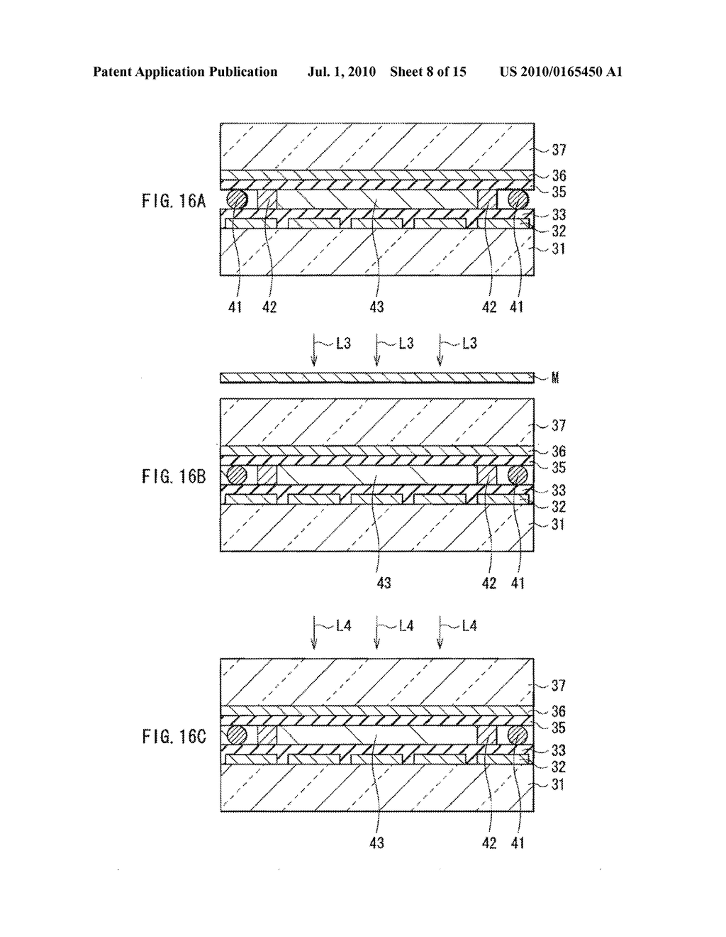 ILLUMINATION DEVICE, DISPLAY DEVICE, AND METHOD OF MANUFACTURING LIGHT MODULATOR - diagram, schematic, and image 09