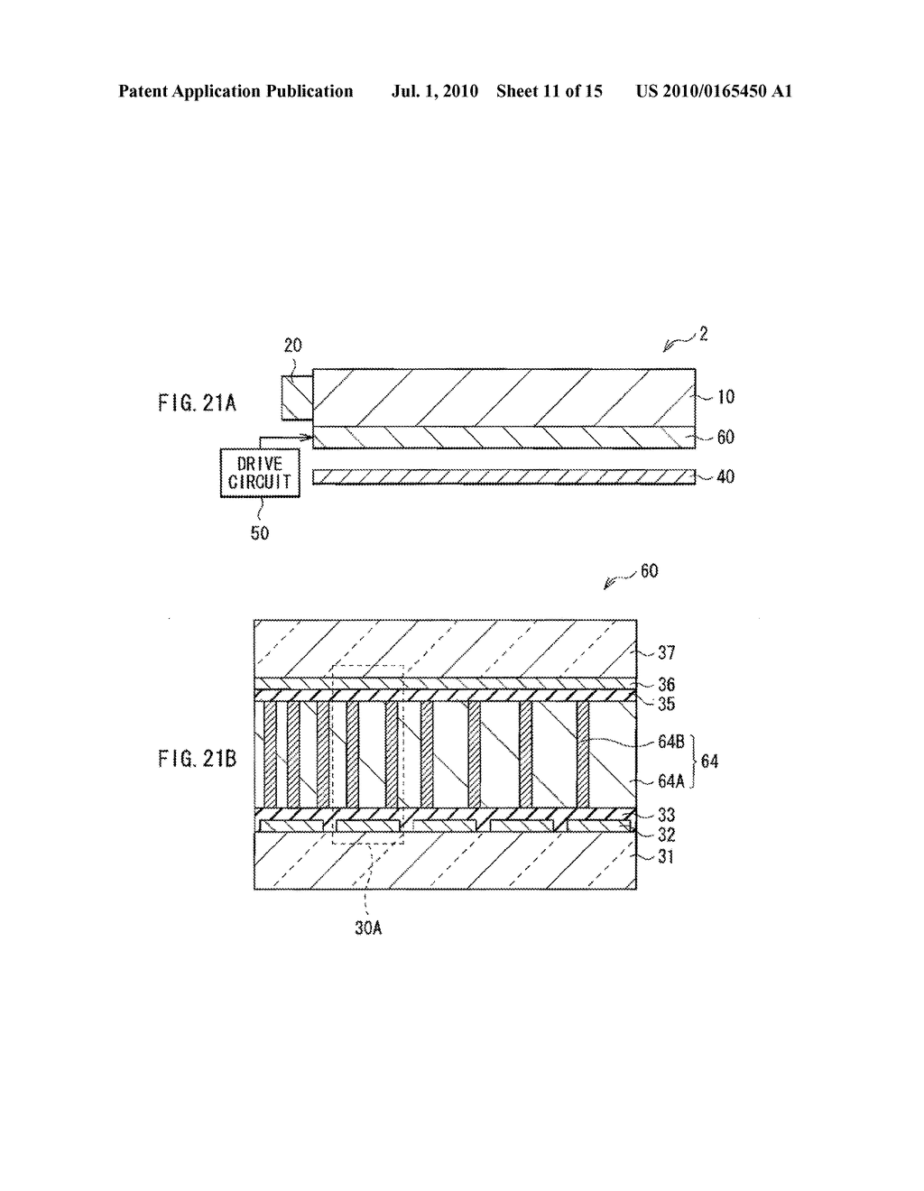 ILLUMINATION DEVICE, DISPLAY DEVICE, AND METHOD OF MANUFACTURING LIGHT MODULATOR - diagram, schematic, and image 12