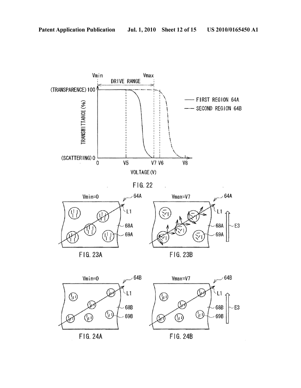 ILLUMINATION DEVICE, DISPLAY DEVICE, AND METHOD OF MANUFACTURING LIGHT MODULATOR - diagram, schematic, and image 13