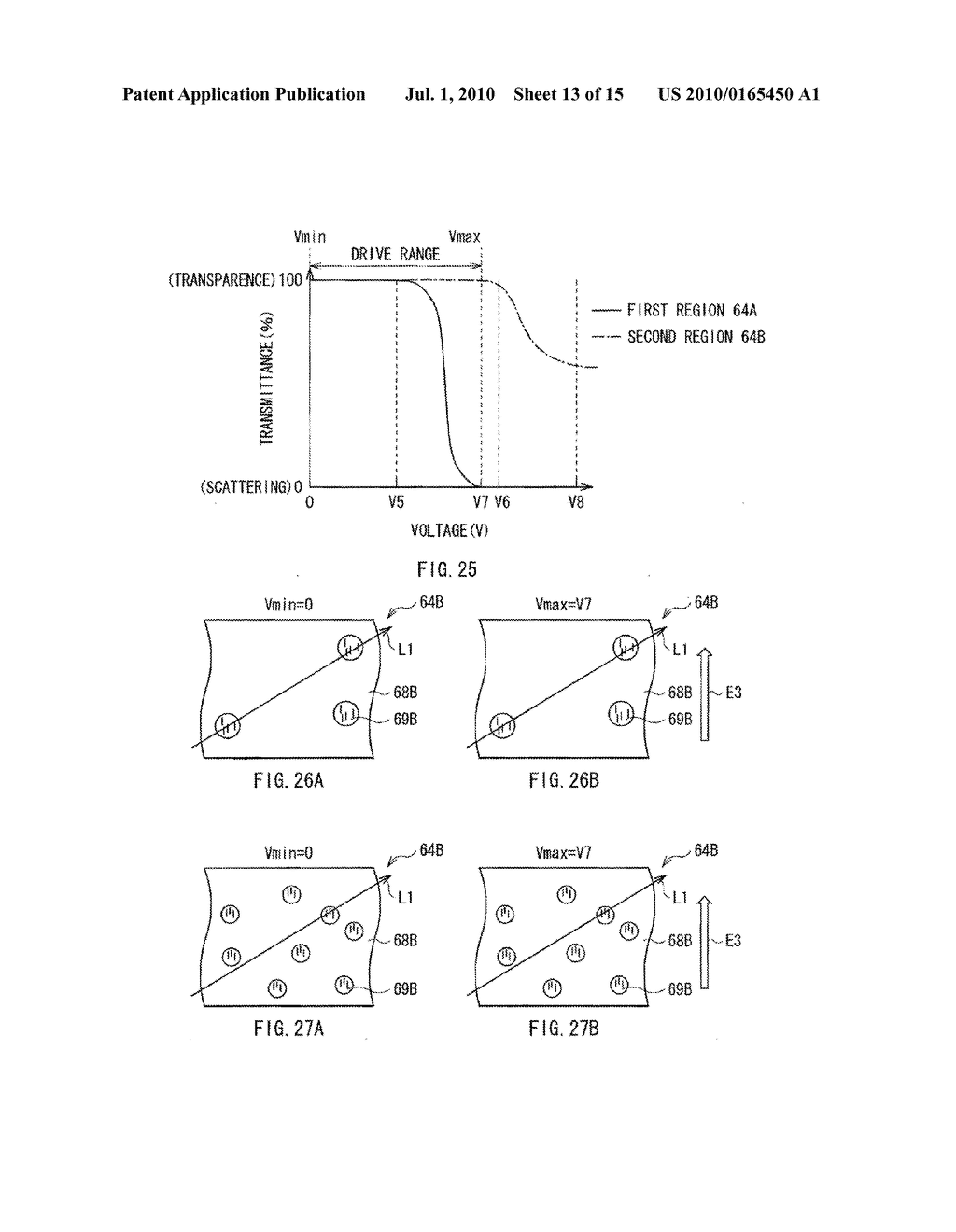ILLUMINATION DEVICE, DISPLAY DEVICE, AND METHOD OF MANUFACTURING LIGHT MODULATOR - diagram, schematic, and image 14
