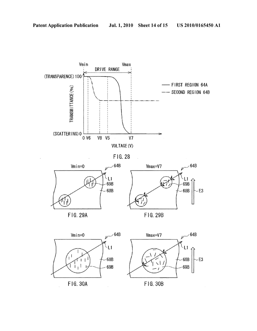 ILLUMINATION DEVICE, DISPLAY DEVICE, AND METHOD OF MANUFACTURING LIGHT MODULATOR - diagram, schematic, and image 15