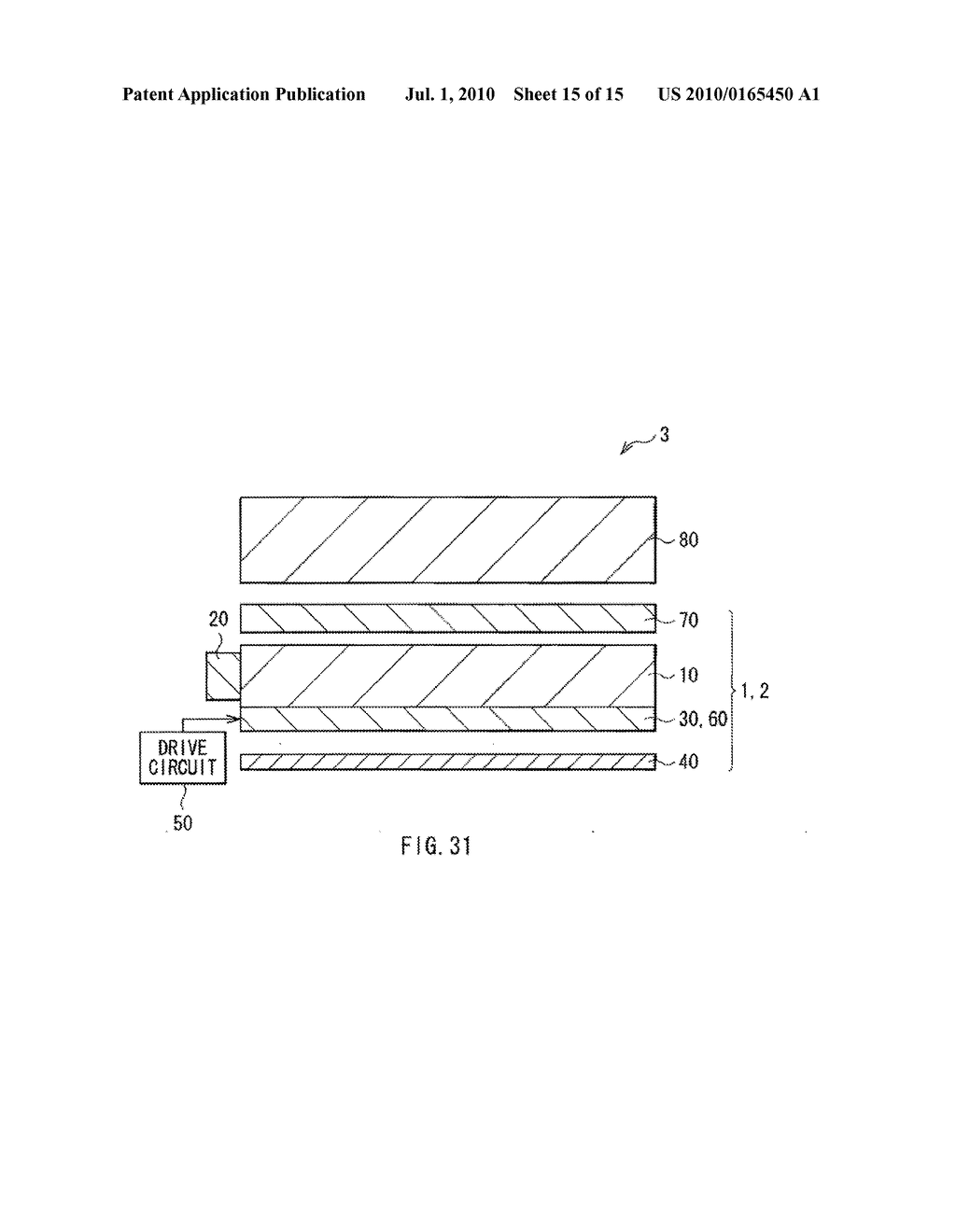 ILLUMINATION DEVICE, DISPLAY DEVICE, AND METHOD OF MANUFACTURING LIGHT MODULATOR - diagram, schematic, and image 16