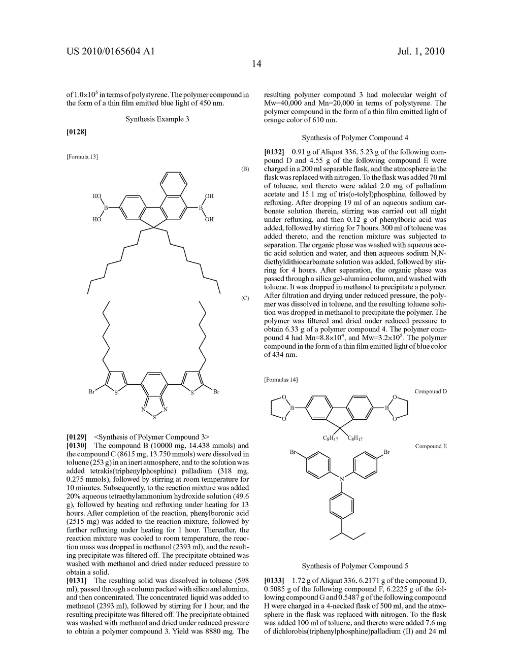 WHITE ORGANIC ELECTROLUMINESCENT DEVICE - diagram, schematic, and image 15