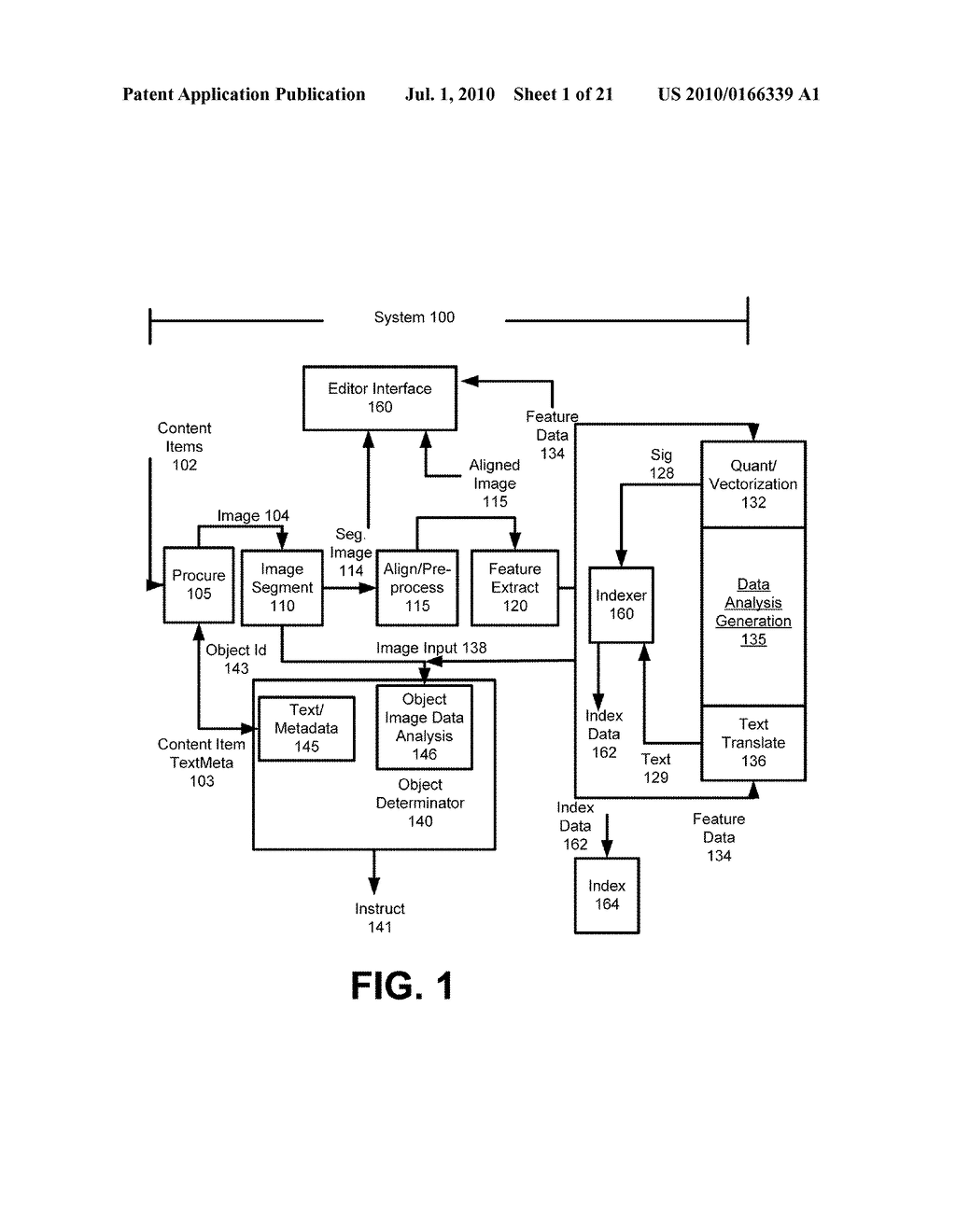 SYSTEM AND METHOD FOR ENABLING IMAGE RECOGNITION AND SEARCHING OF IMAGES - diagram, schematic, and image 02